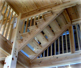 みゆきホームの構造材1